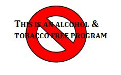 This is an ALCOHOL & TOBACCO FREE PROGRAM